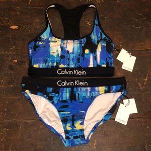 Calvin Klein 2 Piece Swim Suit Bikini